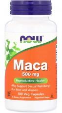 Now Foods Maca 500 mg 100 rostlinných kapslí