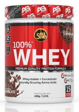 All Stars 100% Whey protein 450 g PROŠLÉ DMT