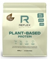 Reflex Plant Based Protein 600g - kakao/karamel VÝPRODEJ (POŠK.OBAL)