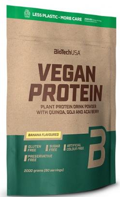 BiotechUSA Vegan Protein 2000g + 500g ZDARMA