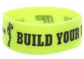 MusclePharm Arnold Series náramek BUILD YOUR LEGACY