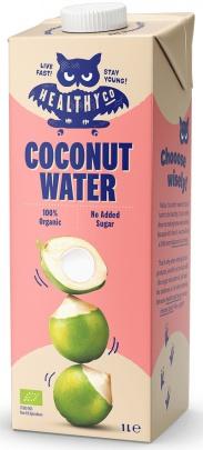 HealthyCo ECO Coconut Water Kokosová voda 1l