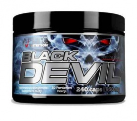 Hitec Nutrition Black Devil 240 kapslí