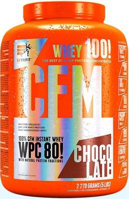 Extrifit CFM Instant Whey 80 2270 g - bílý jogurt PROŠLÉ DMT