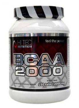 Hitec Nutrition BCAA 2000 150 tablet VÝPRODEJ