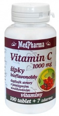 MedPharma Vitamin C 1000 mg s šípky 107 tablet