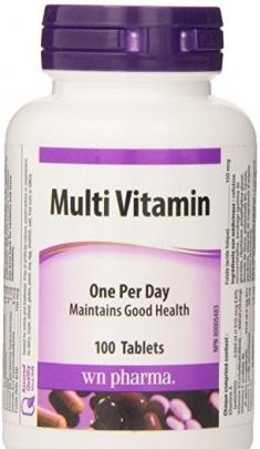 Webber Naturals Multi Vitamin 100 tablet