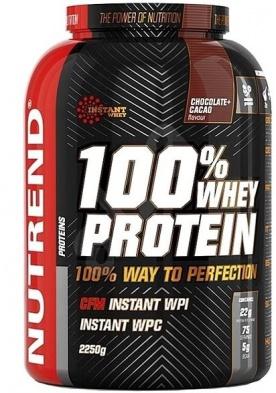 Nutrend 100% Whey Protein 2250 g - piňa colada DOPRODEJ
