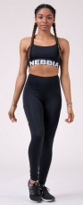 Nebbia High Waist Fit&Smart legíny 505 black