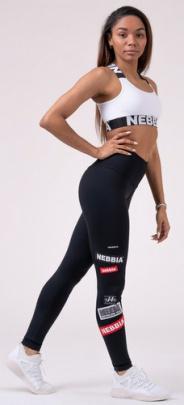 Nebbia High waist NEBBIA Labels legíny 504 black