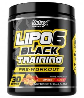 Nutrex Lipo 6 Black Training (pre-workout)