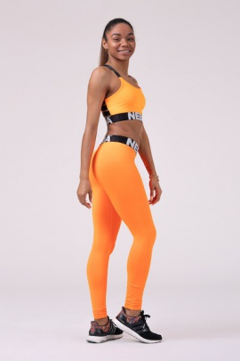 Nebbia Squad Hero Scrunch Butt leggings orange 528