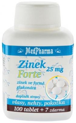 MedPharma Zinek forte 15 mg 107 tablet