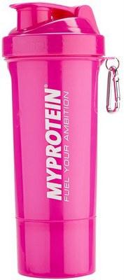 MyProtein šejkr Smartshake ™ Slim Shaker 400 ml Pink