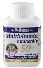 MedPharma Multivitamín s minerály 50+ 107 tablet