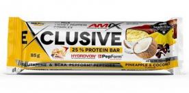 Amix Exclusive Protein Bar 85g - ananas/kokos PROŠLÉ DMT