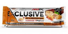 Amix Exclusive Protein Bar 85g - arašídové maslo cake VÝPRODEJ