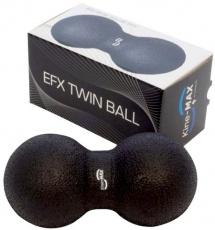 Kine-MAX masážní dvojmíček Twin Ball - černý