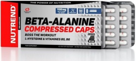Nutrend Beta Alanine Compressed Caps 120 kapslí