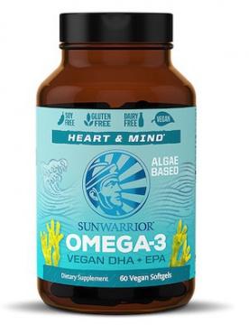 Sunwarrior Omega 3 vegan 60 kapslí