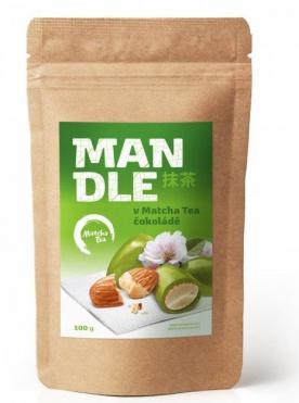 Matcha Tea Mandle v Matcha Tea čokoládě 100 g