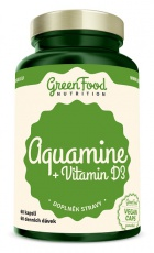 GreenFood Aquamin + Vitamin D3 60 kapslí