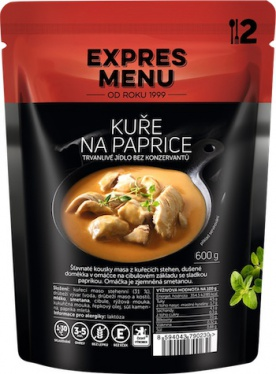 Expres menu Kuře na paprice 600g