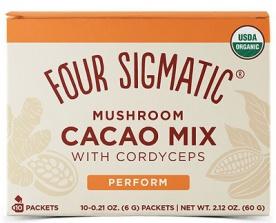 Four Sigmatic Cordyceps Mushroom Cacao Mix 10x6 g