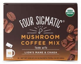 Four Sigmatic Lion's Mane Mushroom Coffee Mix 10x2,5 g