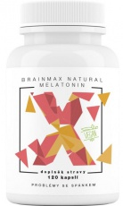 BrainMax Natural Melatonin 120 kapslí