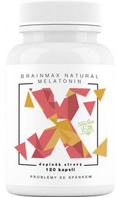Votamax Brainmax Natural Melatonin 120 kapslí