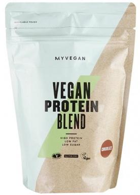 MyProtein Vegan Protein Blend 500 g - jahoda