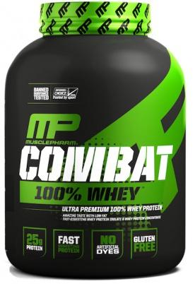 MusclePharm Combat 100% Whey 2269 g + Šejkr We Live This 700 ml ZDARMA