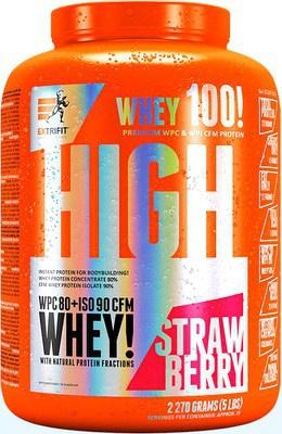 Extrifit High Whey 80 2270 g - jablečný štrůdl PROŠLÉ DMT