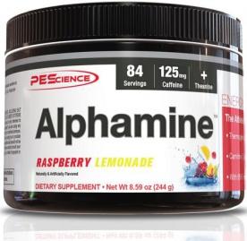PEScience Alphamine 244g + 2x Select Protein 15,5g US verze snickerdoodle ZDARMA