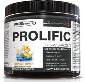 PEScience Prolific Pre-Workout 280g