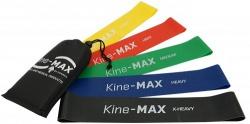 Kine-MAX Mini Loop Resistance Band posilovací guma set (5 ks - extra lehká až extra těžká)