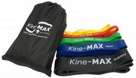 Kine-MAX Posilovací guma Super Loop Resistance band set (5 ks - extra lehká až extra těžká)