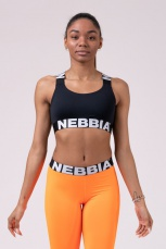 Nebbia Power Your Hero sportovní podprsenka 535 black