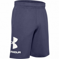 Pánské kraťasy Under Armour SPORTSTYLE COTTON GRAPHIC SHORT-BLK - 1329300-497