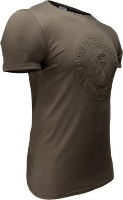 Gorilla Wear Pánské tričko San Lucas Army Green