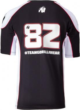 Gorilla Wear Pánské tričko Athlete T-shirt 2.0 Black/White