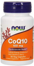 Now Foods CoQ10 100 mg 50 kapslí