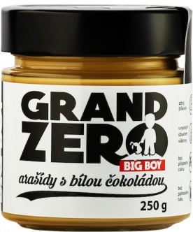 Big Boy Grand Zero s čokoládou 250 g 2 + 1 ZDARMA