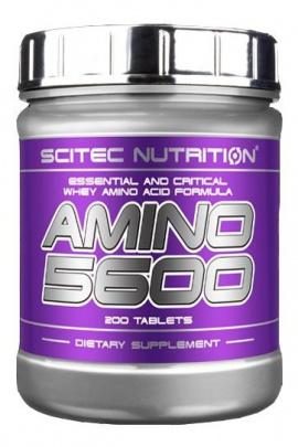 Scitec Amino 5600 200 tablet VÝPRODEJ