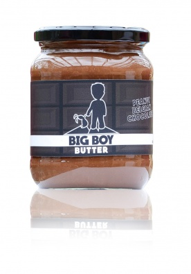 BigBoy Arašídový krém s tmavou čokoládou 550 g PROŠLÉ DMT 20.1.2021