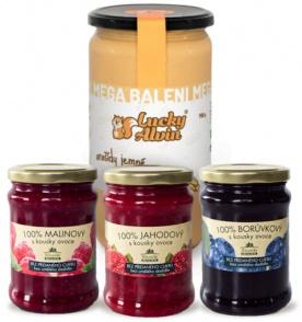 Lucky Alvin Arašídy + 3x džem v dárkovém balení