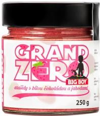 Big Boy Grand Zero s bílou čokoládou a jahodami 250 g