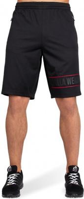 Gorilla Wear Pánské šortky Branson Black/red