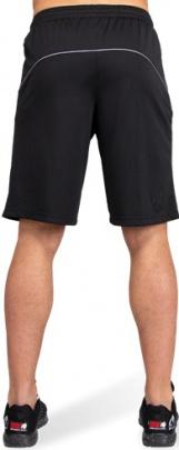 Gorilla Wear Pánské šortky Branson Black/grey